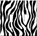 Zebra Print Switch Plate