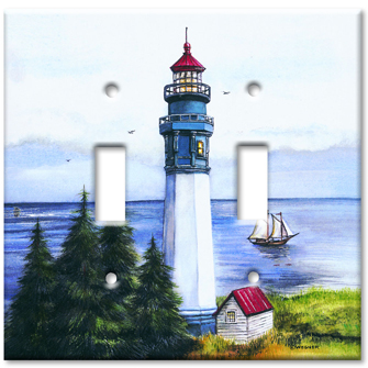 Lighthouse decorative switch plate for Lighthouse switch plates